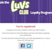 luvs registered