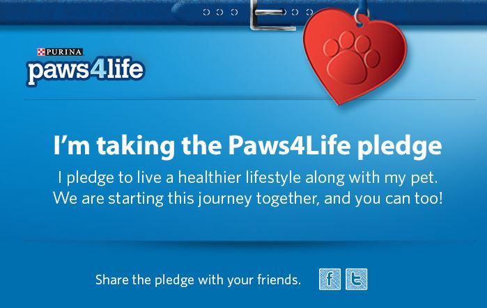 paws for life pledge