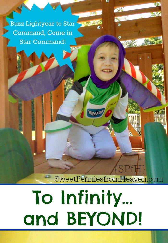 buzz come in star command costume
