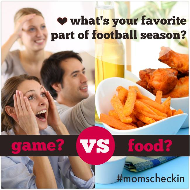 football games vs food