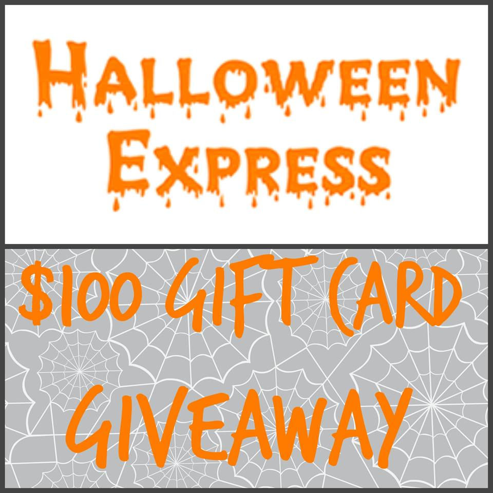 halloween express gift card giveaway