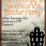 halloween express twitter party