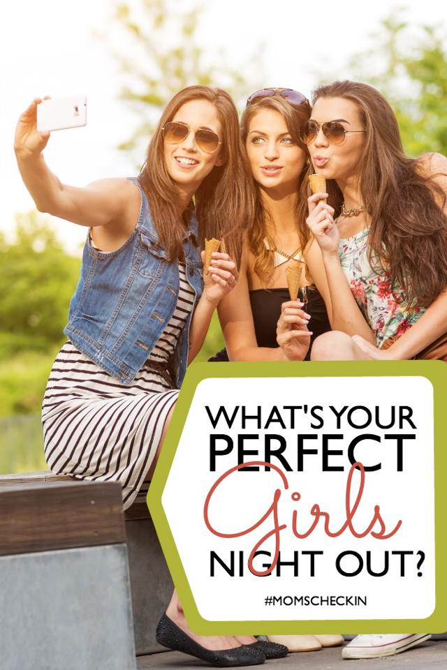 moms check in girls night out 1