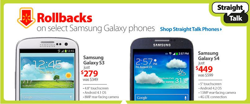 straight talk rollback phones samsung