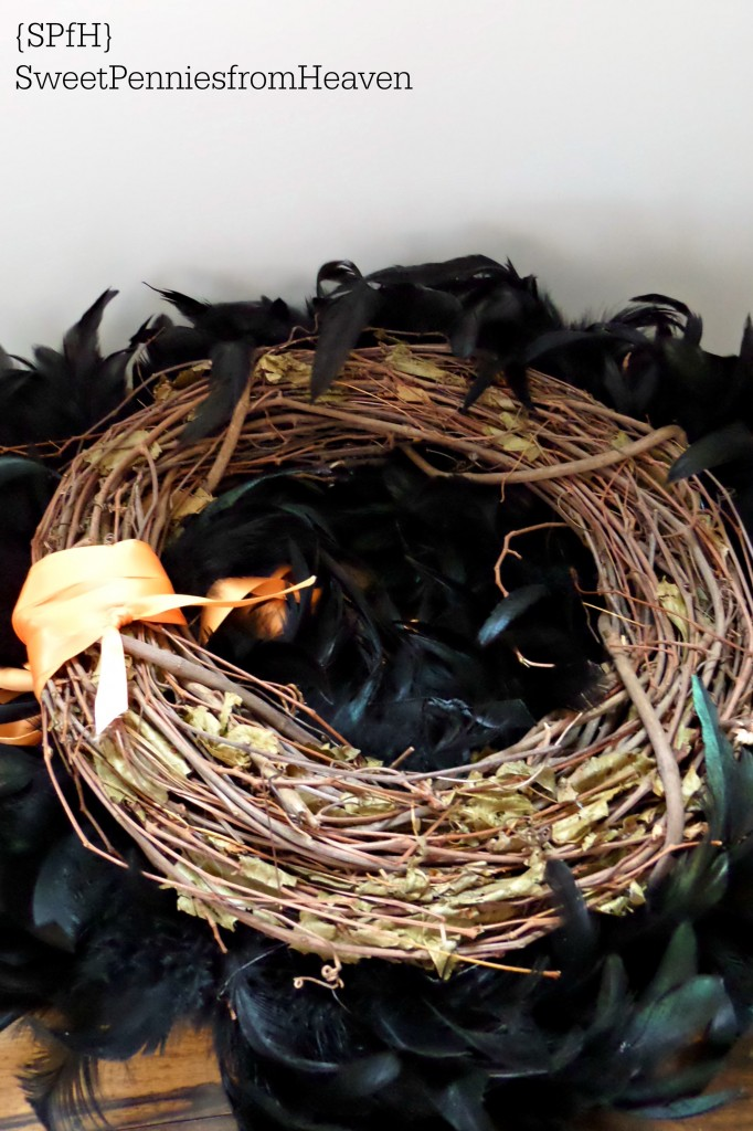 DIY Halloween Wreath Craft