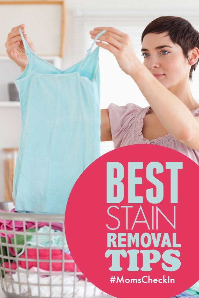 best stain removal tips