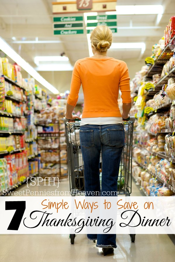 how to save money on Thanksgiving Dinner