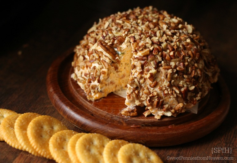 pecan bacon and ranch cheeseball recipe