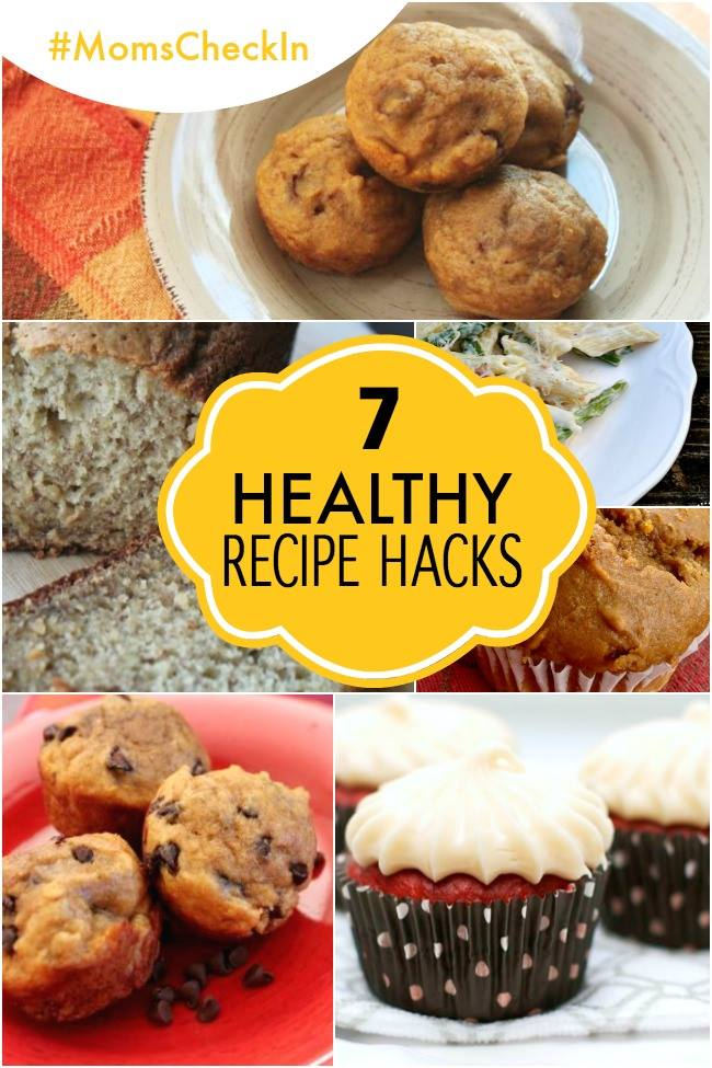 7 healthy recipe hacks