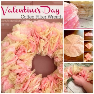 Coffee Filter Wreath Tutorial – Easy Home Decor Craft