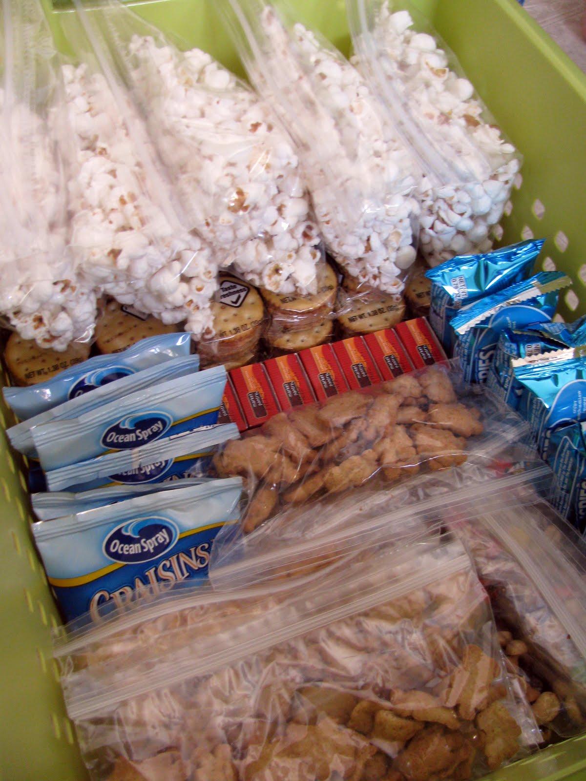 organize snack cabinet