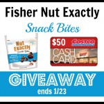 Fisher Nut Exactly Prize Pack Giveaway