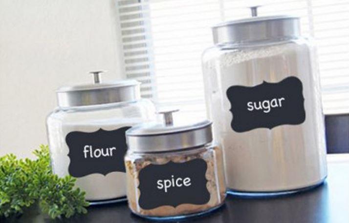organize snack cabinets