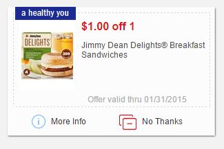 mperks jimmy dean coupon