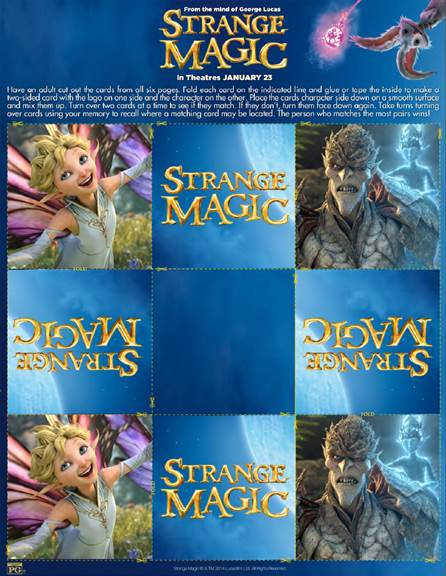 Strange Magic printable