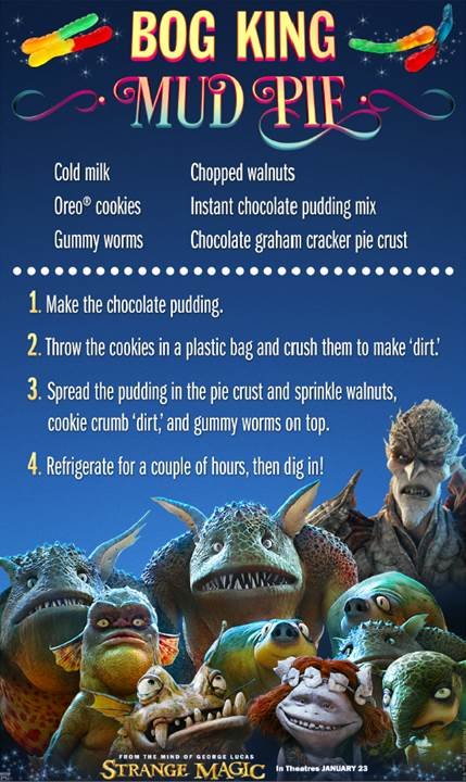strange magic recipes mud pie