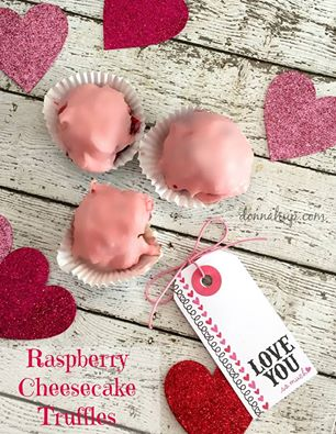 Raspberry-Cheesecake-Truffles