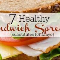 healthy sandwich spreads