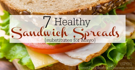 healthy sandwich spreads