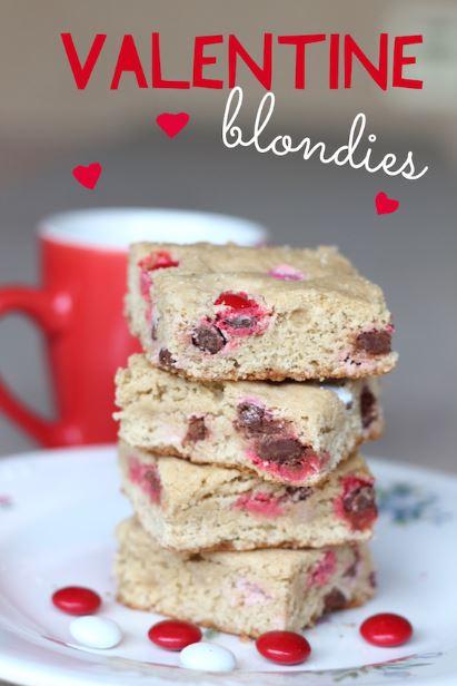 valentine blondie