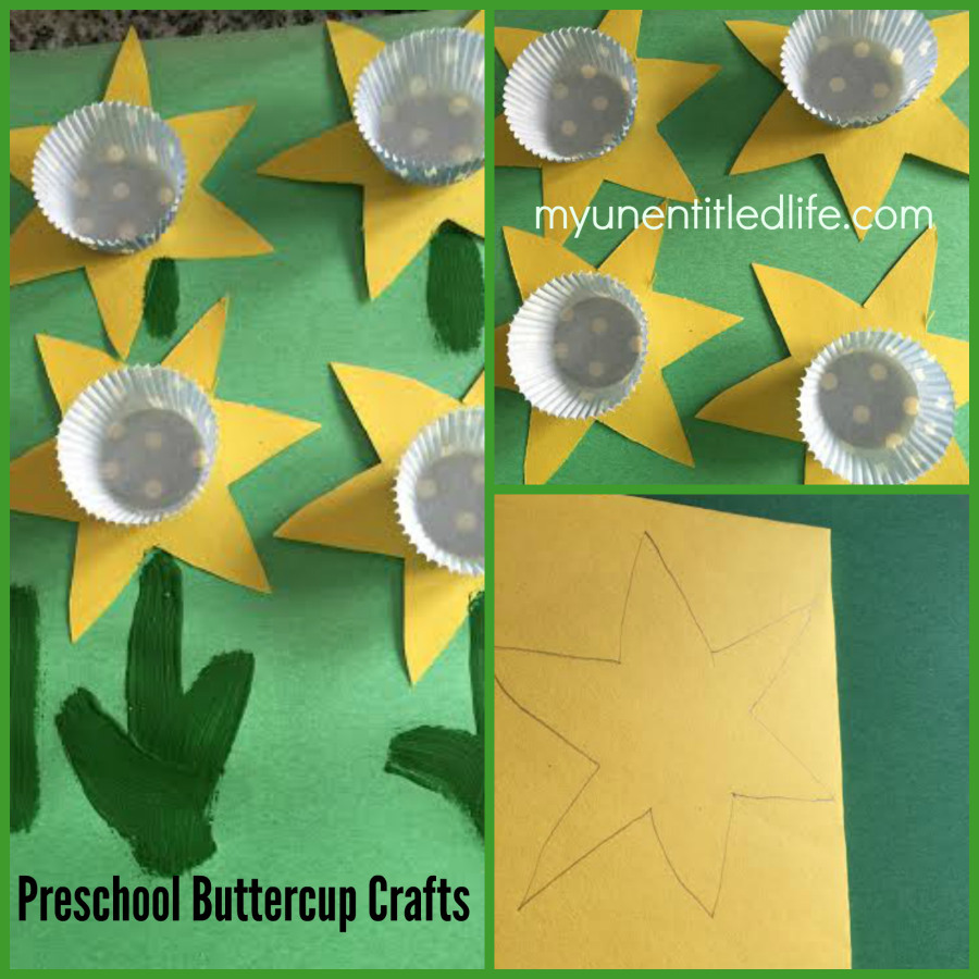 Preschool-Buttercup-Craft