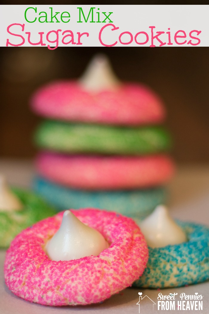 Sugar cookie from cake mix recipe