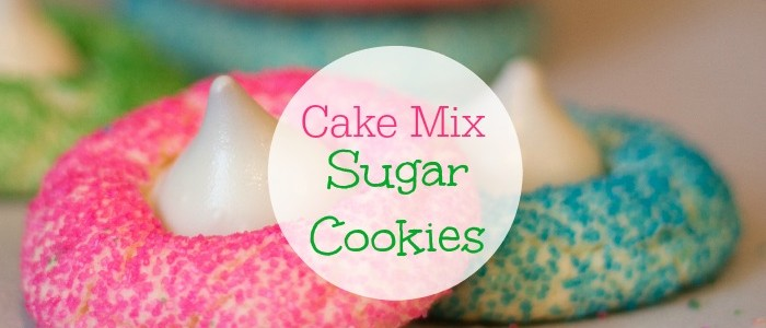 Cake Mix Cookies – An Easy Sugar Cookie Cheat Recipe