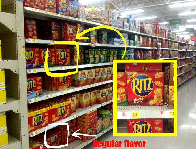 Ritz-Crackers-aisle