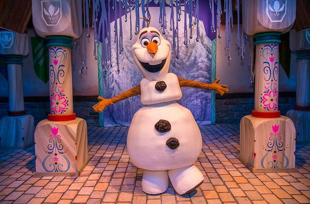olaf frozen fun