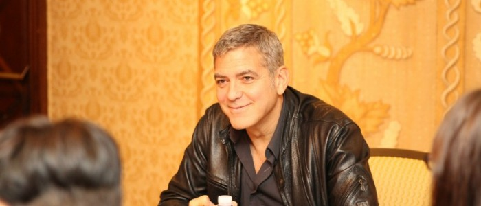 My George Clooney Interview for Tomorrowland Part 1 – #TomorrowlandEvent