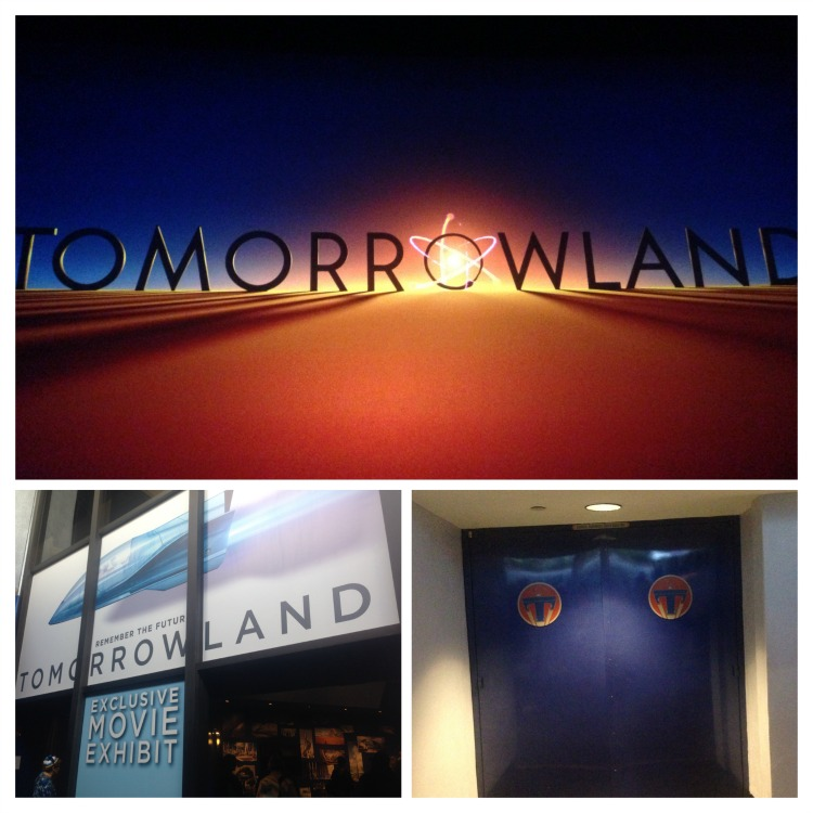 Tomorrowland Exhibit and Sneak Peek in IMAX