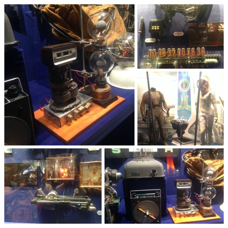 Tomorrowland Exhibit props from the movie