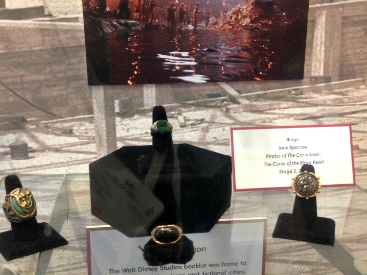 Disney Archives Jack Sparrow's Rings Johnny Depp