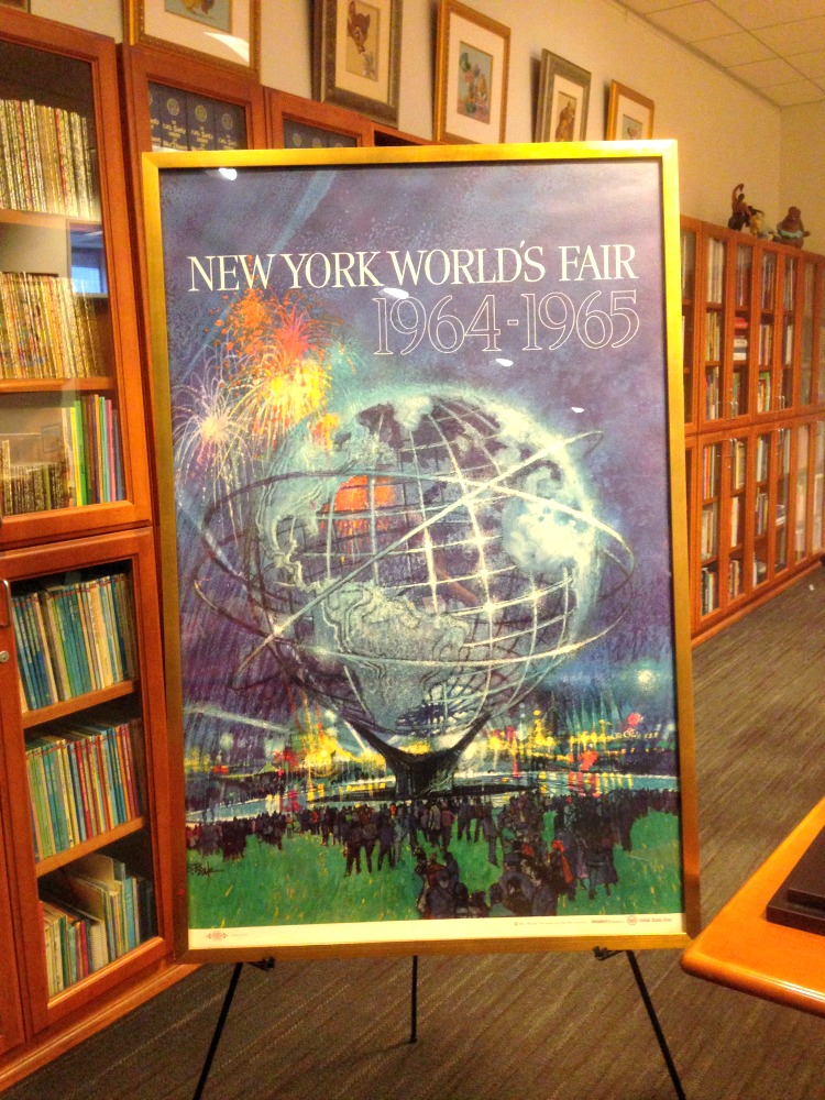 Disney Archives 1964 World's Fair Poster