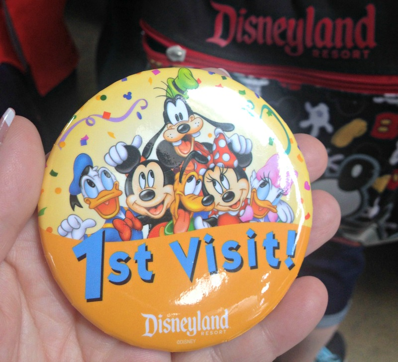 1st Disneyland Pin