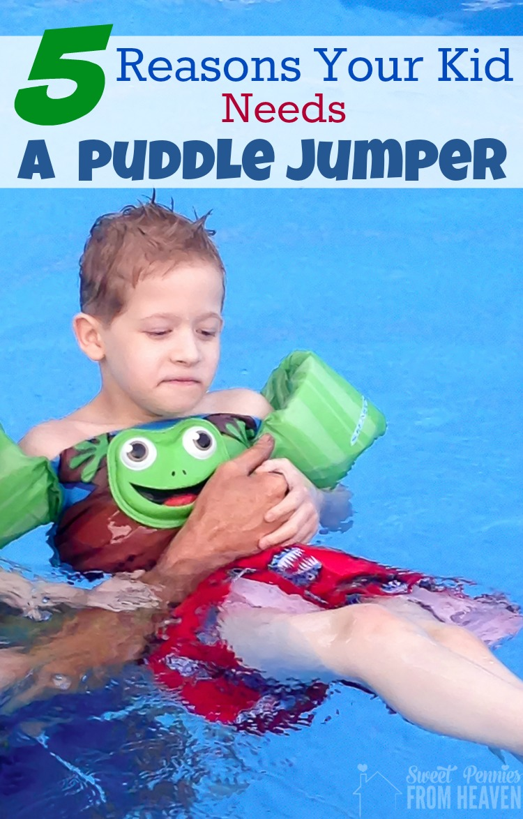 Here are 5 reasons your kid needs a Puddle Jumper!