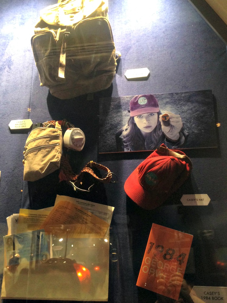 Tomorrowland Exhibit and Sneak Peek - Casey's Wall of Props