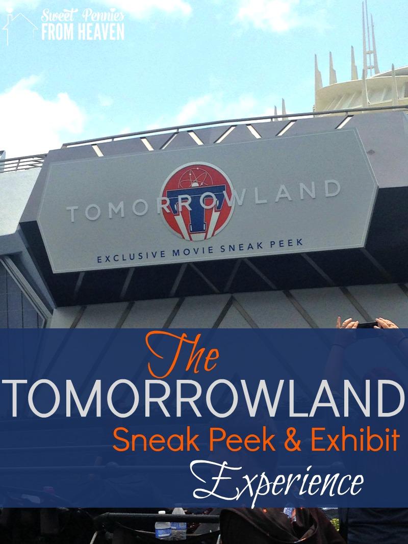 The Tomorrowland Sneak Peek and Exhibit Experience