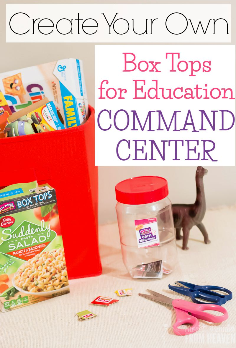 Box Tops Command Center