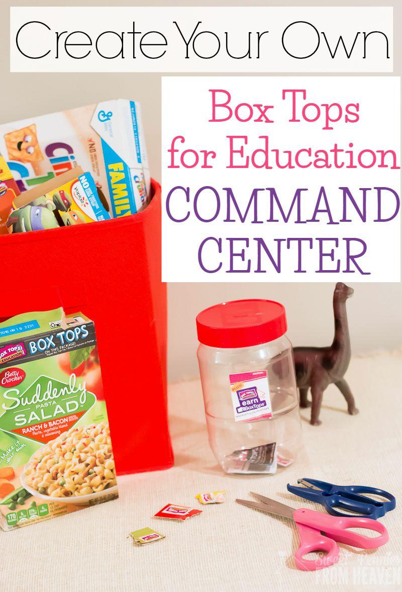 Box Tops Command Center