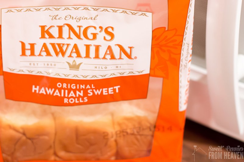 King's Hawaiian Rolls for Chili Cheese Chicken Sliders recipe