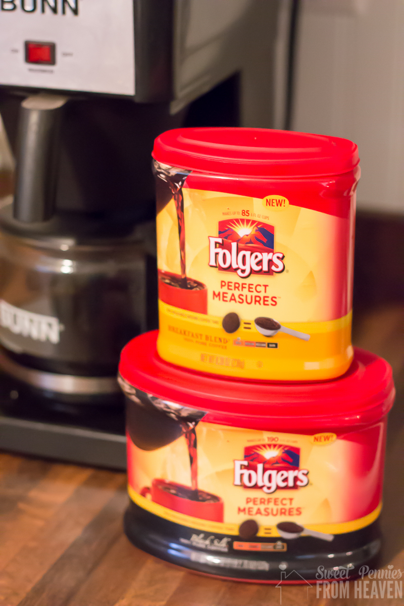 New Folgers Perfect Measures Coffee