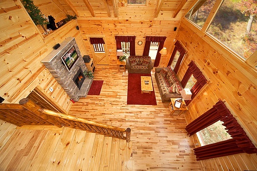 Big Bear Falls Cabin Review U2013 Choose American Patriot Getaways For Your  Next Gatlinburg Getaway